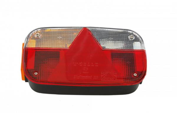 Aspöck Multipoint 3 Rückleuchten Leuchte Anhänger Trailer LINKS 8 Polig Bü10656