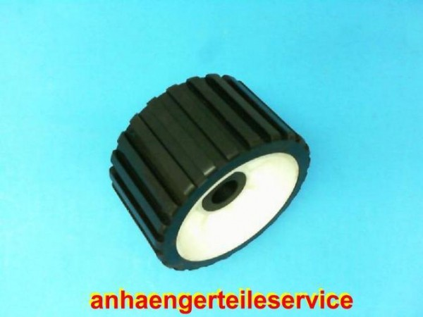 Sliprolle Bootsauflage Kielrolle Rolle aus Polyvinyl Farbe schwarz Neu L3076