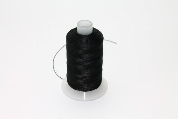Markisenstoff Nähgarn 40/3 zum Markisen nähen 3 Fach Zwiern Farbe Schwarz D0020