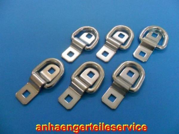 Ladungssicherung Zurröse Zurrring 1500 daN ohne Schrauben - 6 Stück - Neu L2968