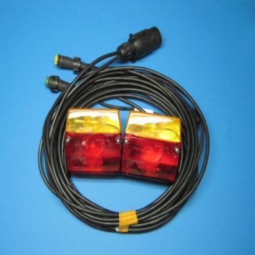 Aspöck Dreikammerleuchte ohne KZL. und 4 m Kabel L2498