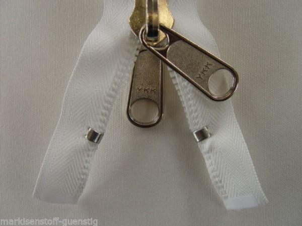 Reißverschluss zipper YKK für Persenning Zelte 350 cm Breit 4 cm Spiralb.L582350