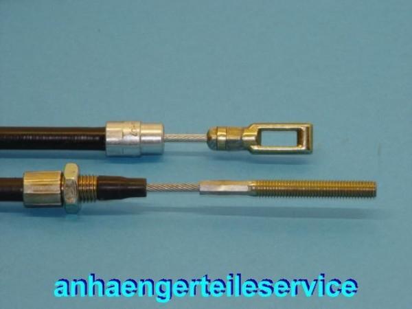 Bowdenzüge mit Langloch-Öse für Knott und BPW Bremsen HL 1300 mm S 1600 mm L9078