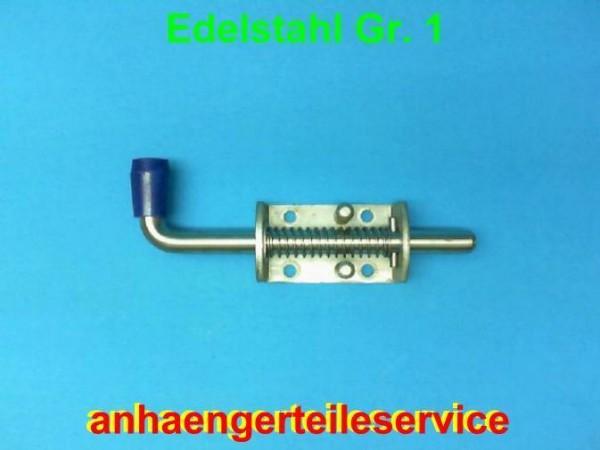 4 Stück Edelstahl Federriegel Federverschluss 12 mm Riegel Nirosta L2513.04