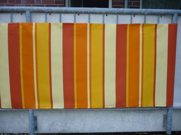 Balkonbespannung Sichtschutz Balkonsichtschutz Balkonverkleidung1lfm.Sonderpreis