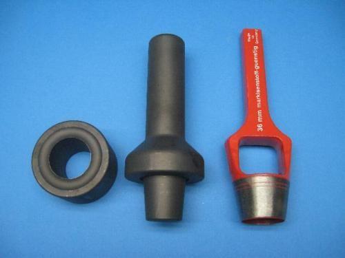 Handeinschlageisen 36mm Ösenpresse Neu im Set..0 L98360
