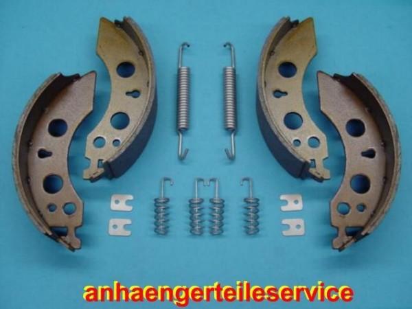 Bremsbackensatz Bremsbelege Kit für Alko Bremsen 2050/2051 200x50 mm Neu B150041