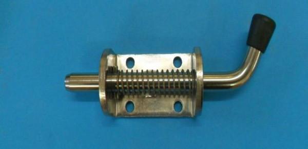 Federriegel Federverschluss 12 mm Riegel Nirosta Riegel feststellbar Neu L2515