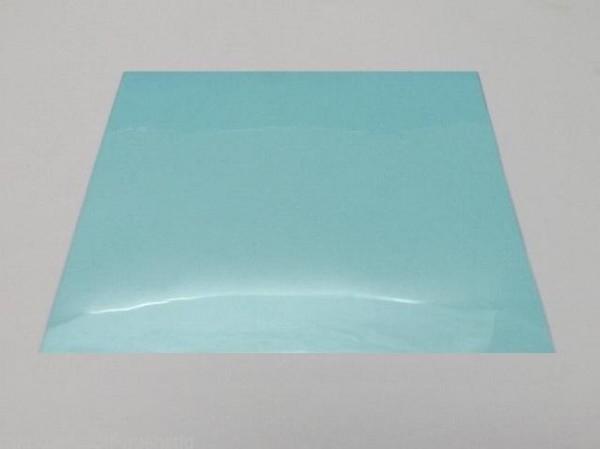 Blaue Folie Fensterfolie Glasklar Kratzfest Boot Trecker Trailer Anhänger L9528