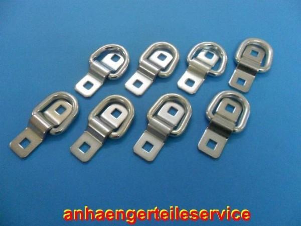 Ladungssicherung Zurröse Zurrring 1500 daN ohne Schrauben - 8 Stück - Neu L2969