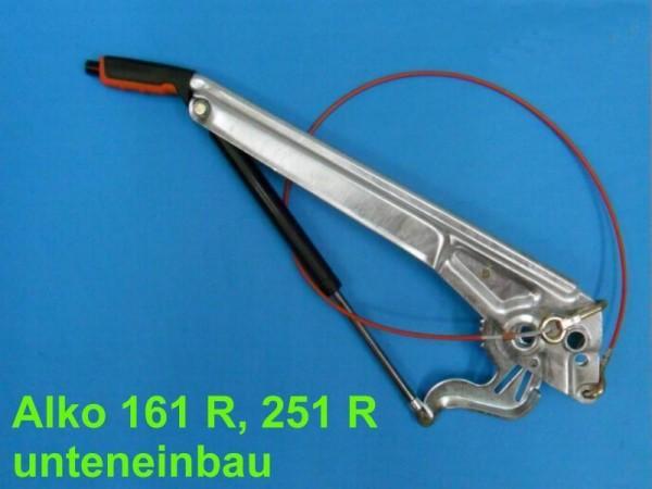 Alko 161 R Handbremshebel unten einbau verzinkt Lagerbolzen Ø 16 mm NEU L36683