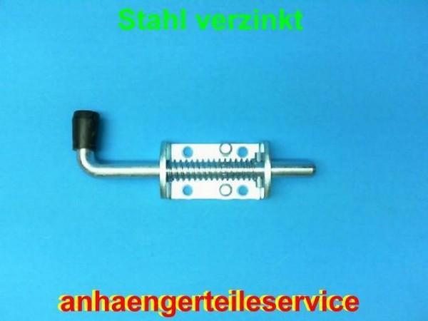 Federriegel Federverschluss 12 mm Riegel verzinkt Riegel feststellbar L2513.3