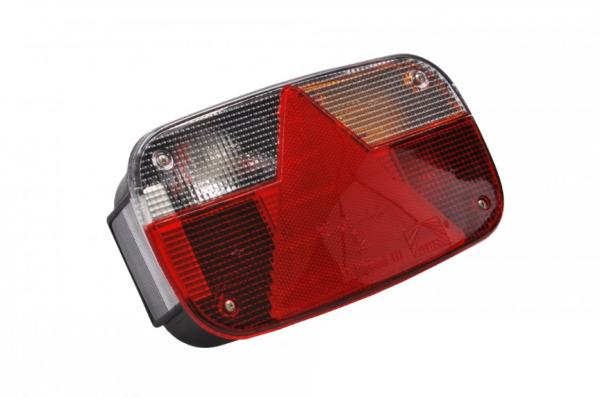 Aspöck Multipoint 3 Rückleuchten Leuchte Anhänger Trailer RECHTS Bü10653