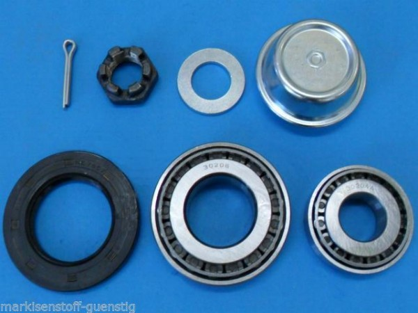 Radlager Set Stema Anhänger Knott Achse mit 30204/30206 Wedi 38x62x8 mm L0776