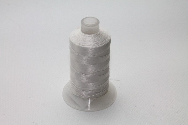 Markisenstoff Nähgarn 40/3 Markisen Farbe 400 m Spindel Weiss D0019