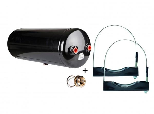 Druckluftkessel 60L 246x580 mm Druckluftbehälter Drucklufttank mit Zubehör