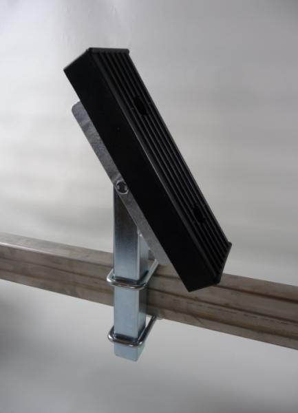 Bootsauflage Bootskissen Auflage 300x100x30 mm inkl. Montagekit Rohr 400 mm