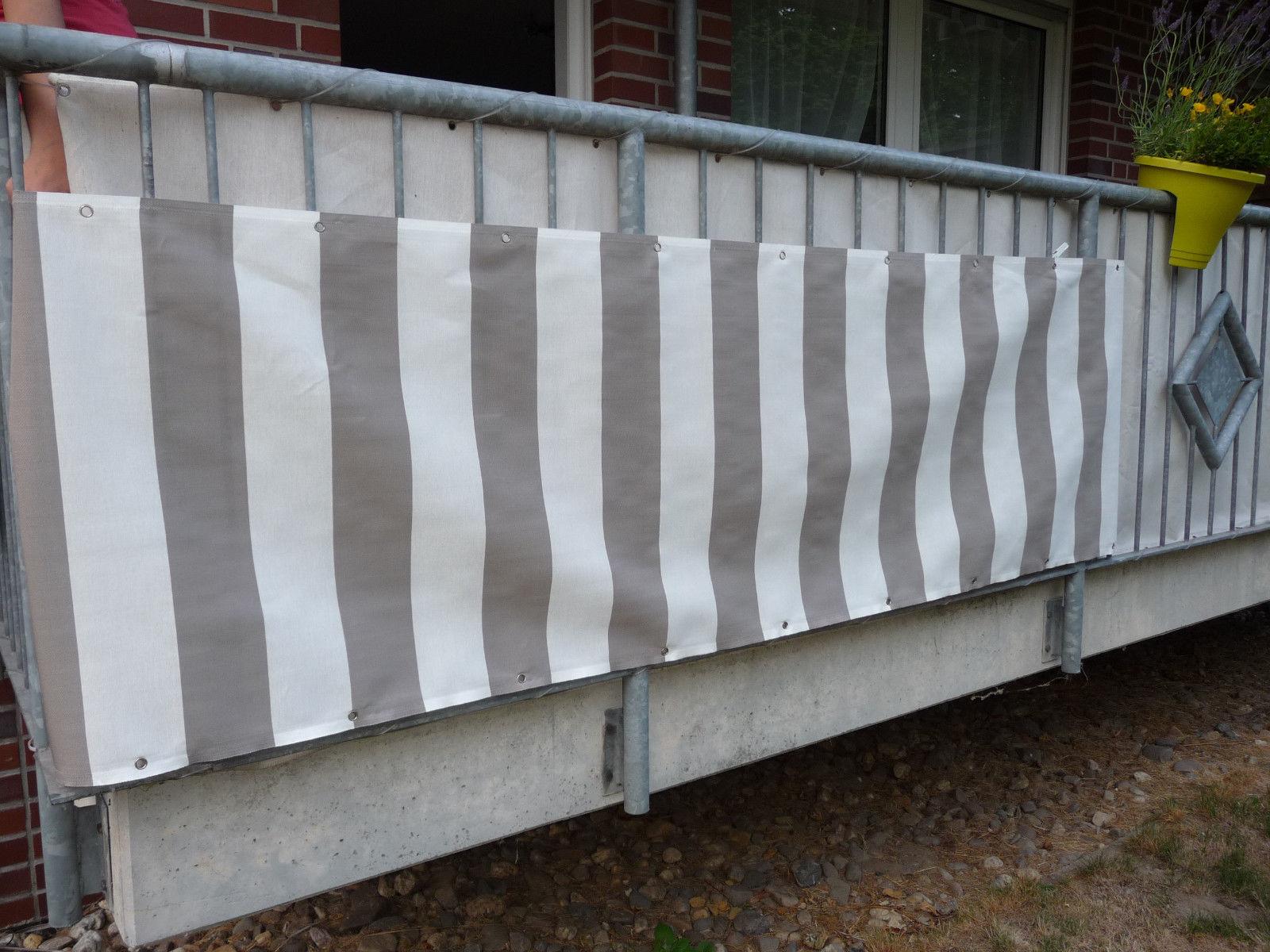 Balkonbespannung Balkon Sichtschutz Balkonsichtschutz