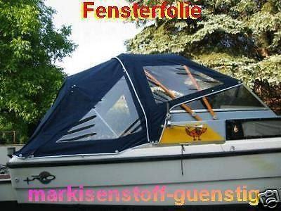 Achilles Folie 0,3 mm Fensterfolie für Boot Trecker Trailer Anhänger Neu 9525