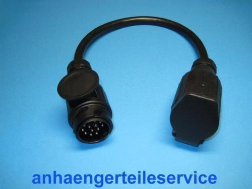 Verlängerung Kabel 13 Polig Stecker/Kupplung 0,50 NEU L7170