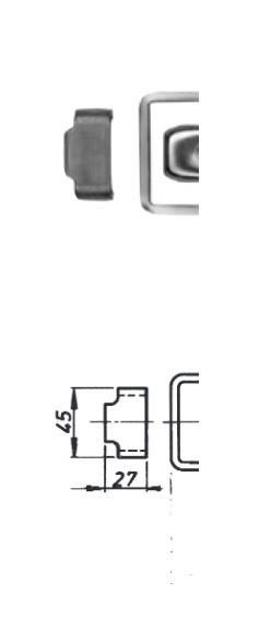 Gegenstück Bordwandverschluss Spannverschluss Verschluss Stahl roh 230506