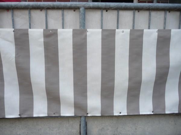 Balkonbespannung Balkon Sichtschutz Balkonsichtschutz Balkonverkleidung 1lfm.