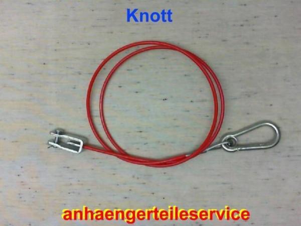 Knott Abreißseil 1200 mm für Anhänger zur befestigung am Handbrems Hebel L0058.4