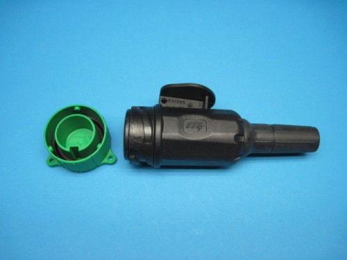 Stecker PVC 13 Polig mit einfach Tülle Stecker voll belegt Parksteckdose L1149.1