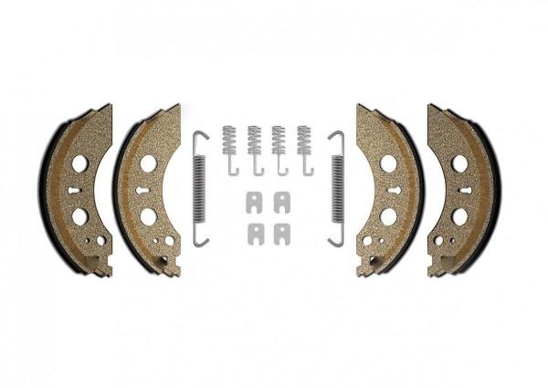 BÜNTE® Original Bremsbackensatz für AL-KO A2050 BÜ94900