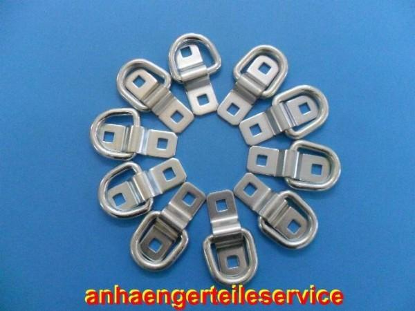 Ladungssicherung Zurröse Zurrring 1500 daN ohne Schrauben -10 Stück - Neu L2970