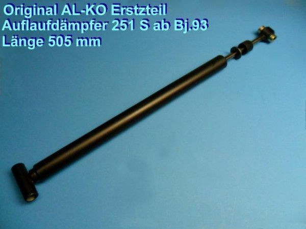 Original ALKO Auflaufdämpfer Stoßdämpfer Dämpfer 581469 Alko Aufl.251 S+R L5020