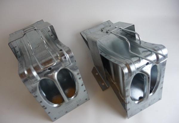 Keile Metall verzinkt für Anhänger Trailer LKW L2064S2