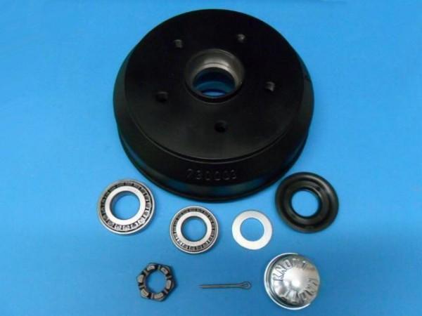 Bremstrommel Set passend Knott Bremse 20-2425/1 963/1 964/1 Neu 5 Loch L140133S