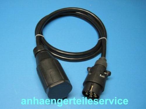Adapterkabel-Verlängerungs-Kabel von 7 auf 13 Poliger Kupplung 1 m lang L7169