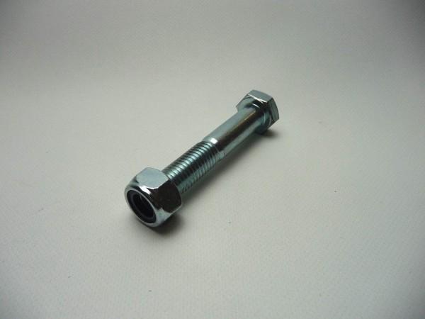 DIN 931 Schraube M14 inkl. Mutter SW22 10.9 M14 x 80mm Kugelkupplung L1480