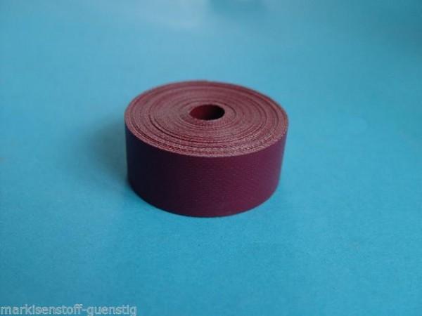 Einfassband 20 mm für Persenninge Cabrio Dächer Farbe Rot L0457
