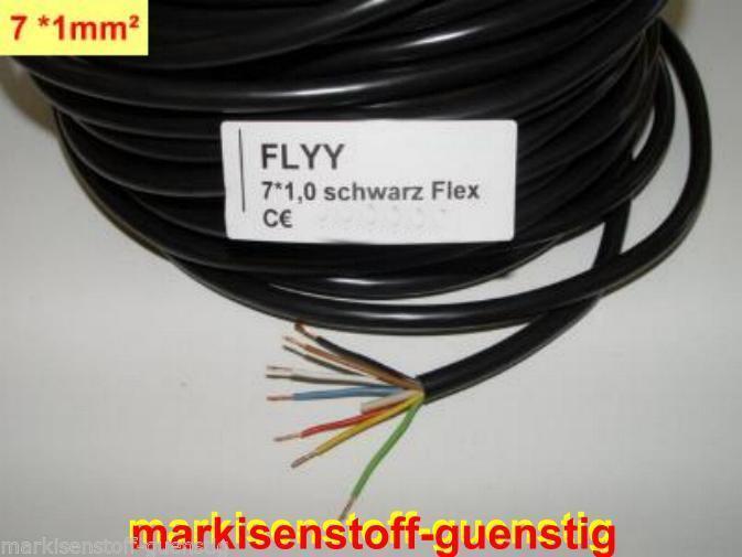 Fahrzeugkabel Kabel für Anhänger Trailer Landmaschinen 5x1,5² mm Adrig  L0304.2