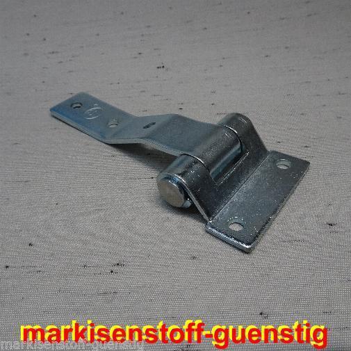 PKW Anhänger Scharnierbolzen Heckklappen Klappscharnier Lagerbock 16 mm L2020.16