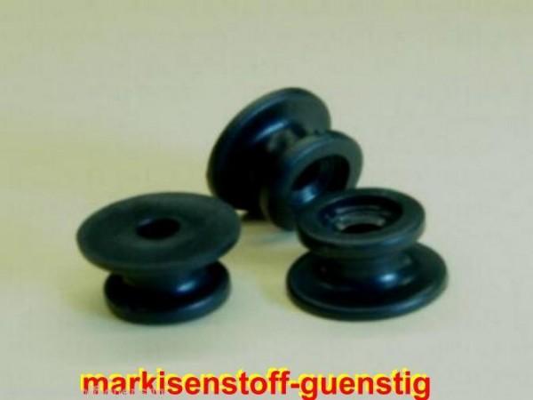 3 mal Rundknopf Anhänger Expanderseil 20/24 mm L20390-3