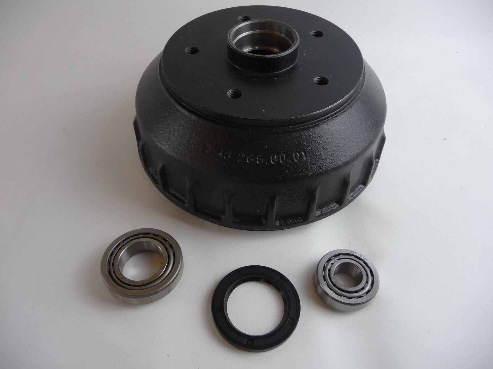Bremsbackensatz Bremsbelege Kit für Alko Bremsen 2050//2051 200x50 mm Neu B150041