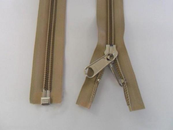 Reißverschluss YKK für Persenning Zelte 130 cm Breit 4 cm Spiralb.10 mm L573130