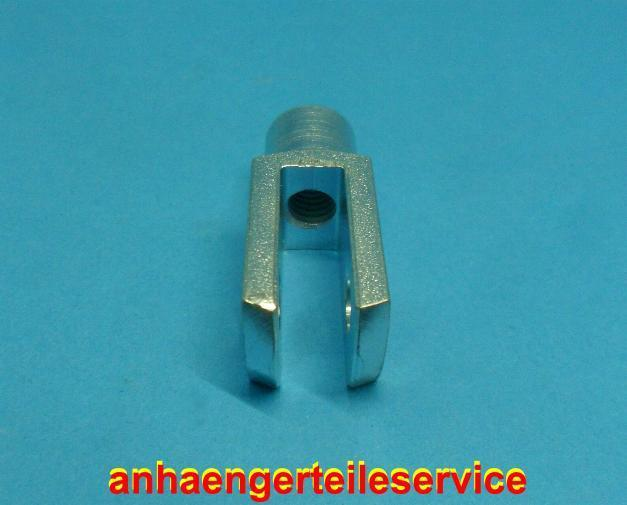 Sicherungsbolzen Federsicherung Bolzen  Stopmutter L8034.3 3x Gabelkopf M8x32 m