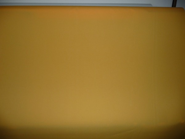 Markisenstoff Sichtschutz Sonnenschutz Windschutz Balkon Neu 1,2m breit Gelb