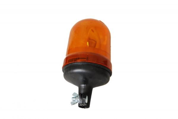 AJBA Rundum-Leuchte gelb mit Rohrstutzenbefestigung für Aufsteckrohr