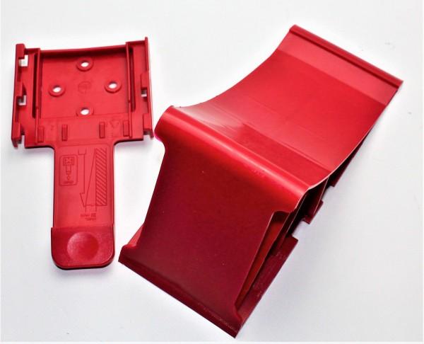 Anhänger Keil mit Halter PVC Keile- Hemmschuhe Rot 1,6 t Achslast Neu L2070S1