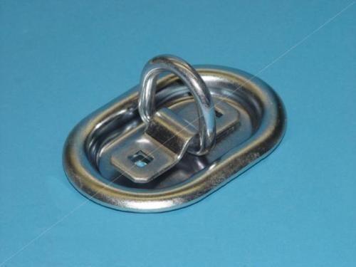 Zurrmulde Oval beidseitig f. Ladungssicherung - Geprüft 1500 daN - Neu L0259