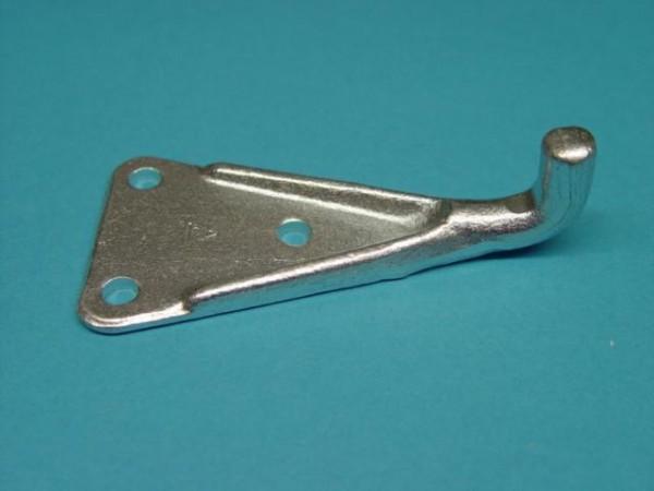 Haltenocke für Exzenterverschluss geschmiedeter Stahl verzinkt Dreilochbef.L1631
