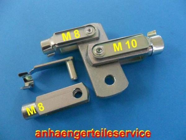 Ausgleichswaage Bremsgestänge für BPW/Peitz M8/10 Gewindestangen verzinkt L70037
