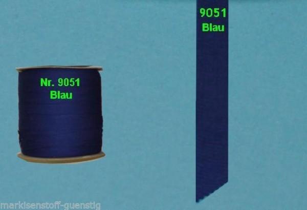 Einfaßband Volant Markisenstoff Markisen Neu Blau L9051