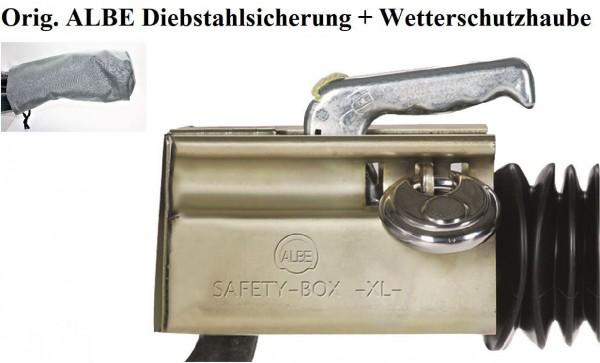 Diebstahlsicherung Albe XL inkl.Wetterschutz auch für Fahrbetrieb NEU L0048.1